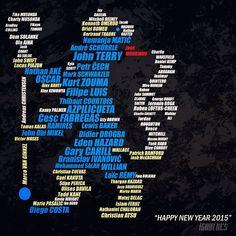 Happy New Year 2015 ~ Chelsea FC