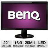 BenQ VA GW2250 22-Inch Screen LED-lit Monitor - BenQ VA GW2250 22-Inch Screen LED-lit Monitor    Input connectors: VGA D-sub / DVI-DLess than 0.3 watts of power consumption in Power Saving ModeDisplays 16.7 million colorsHDCP Compatible  The BenQ GW2