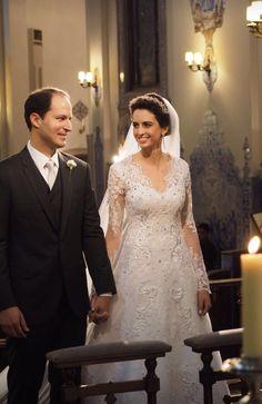Noiva Bruna Marchetti com Vestido Exclusivo Geraldo Couto