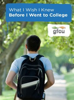 What I Wish I Knew Before I Went to College #CollegeTips