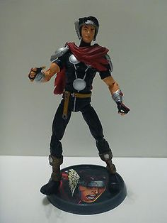 #Marvel legends avengers #young asgardian wiccan action #figure detailed with bas,  View more on the LINK: http://www.zeppy.io/product/gb/2/301887277103/