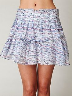 Free People Party Animal Mini Skirt at Free People Clothing Boutique - StyleSays
