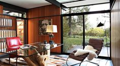 A Mid-Century Residence in California – a Real Greenhouse in the Middle of Beautiful Surroundings