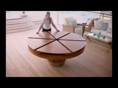 La magie des meubles multifonctionnels - YouTube