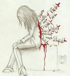 This is what people do to each other, causing anxiety and depression. Back-stabbers, I don't waste my time with them.