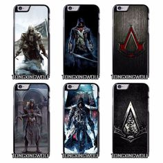 Assassin Creed Cover Case for IPhone 4 4s 5c 5 5s se 6 6s 7 plus //Price: $15.00 & FREE Shipping //     #ubisoft