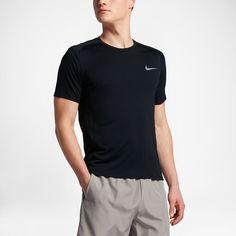 d55fe7ea Nike Miler Men's Short Sleeve Running Top - 2XL Mens Running Tops, Short  Sleeves,