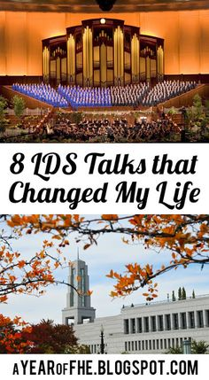 A Year of FHE: 8 #LDSconf Talks that Changed My Life. #lds #generalconference