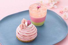パティスリー キハチの限定「桜スイーツ」、桜の木をイメージしたベリーヌ&桜づくしのモンブラン