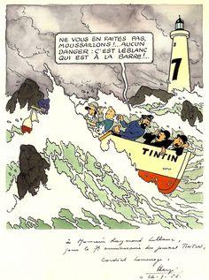 """Tintin et la mer"", Historia, HS p. Fox Terriers, Herge Tintin, Comic Art, Comic Books, Ligne Claire, Bd Comics, Line Illustration, Latest Books, Marjolein Bastin"