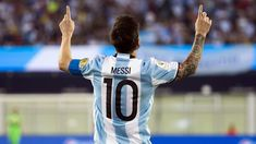 Leo Messi matches all-time Argentina goals record in Copa win