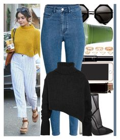 """""""With Vanessa Hudgens"""" by angelbrubisc ❤ liked on Polyvore featuring Forever 21, Steve Madden, H&M, Ann Demeulemeester and Charlotte Russe"""