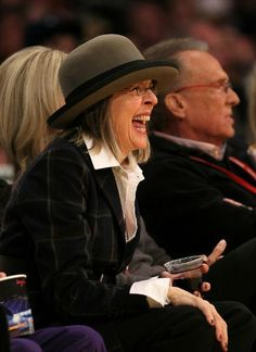Diane Keaton - now that's an infectious laugh! Diane Keaton, People Laughing, Laughing So Hard, Coppola, What's So Funny, Laughter The Best Medicine, Belly Laughs, Celebs, Celebrities