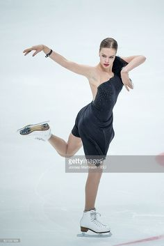 Anna Pogorilaya of Russia competes during Ladies Short Program on day one of the Rostelecom Cup ISU Grand Prix of Figure Skating at Megasport Ice Palace on November 4, 2016 in Moscow, Russia.