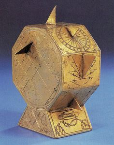 Cardinal Wolsey's portable sundial