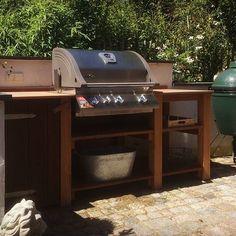 Es wird Zeit, dass der Sommer wiederkommt! #outdoorküche #grill #sommer #summer #outdoorkitchen #outdoor #grillen #picoftheday #followme #aussenküche #ludwig #kamado #biggreenegg