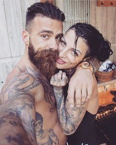 WEBSTA @ brave_n_bearded - ❤@dakisavic @jelena_krunic ⚓️GET YOUR BRAVE ON ⚓️ #men #bearded #beardoil #menwithclass #love #beard #mencare #pogonophile #hot #bravelifestyle #beardlove #inked #life #Beards #bebrave #brave #bebrave #huileabarbe #tattoo #amazing #instabeard #fashion #style #barber #barbershop www.bravenbearded.comHuileabarbe.com