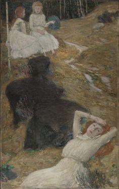 Národní galerie Praha Modern Art, Fine Art, Painter, Sculptor, Mucha, Painting, Art, Alfons Mucha, Paul Gauguin