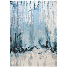 Colores Rug in Blue