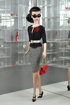 """""""Career"""" Barbie. For once, barbie is wearing something I might actually wear."""