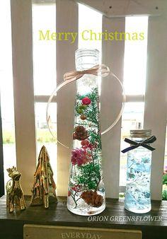 クリスマス ハーバリウム レッスン 販売 | 浦和美園の花屋オリオンは観葉植物レンタル