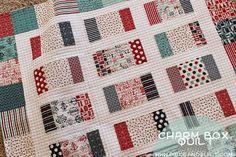 Piece N Quilt: Fat Quarter Shop's Charm Box Quilt