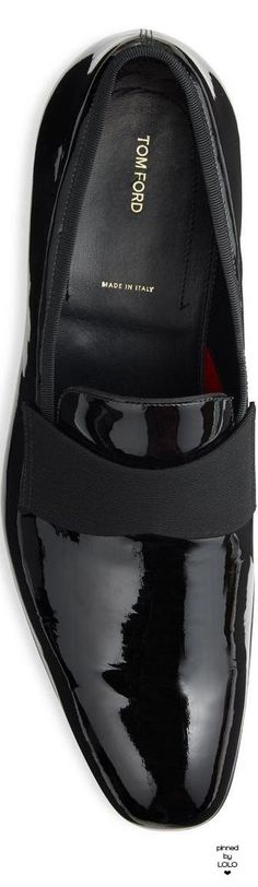 Tom Ford Edgar Patent Leather Evening Loafer