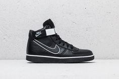 72919f841e3559 Nike Vandal High Supreme Leather Black  Black-White