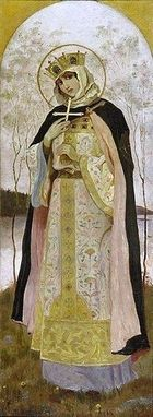 More Saints of the Day for Monday, July 11th, 2016 -  St. Olga_Grandmother of St. Vladimir, the Baptist of Russia