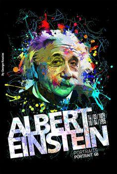 Albert Einstein, 14 March 1879 – 18 April 1955