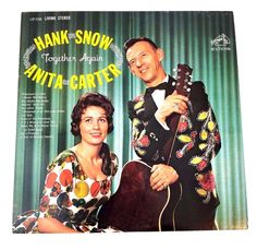 Hank Snow Anita Carter Together Again Vinyl Record 1962 LP Album Folk Country Together Again, Lp Album, Vinyl Records, Albums, Folk, Snow, Country, Best Deals, Movie Posters