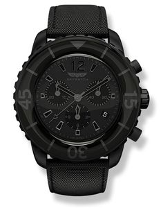 """""""Murdered Out"""" All Black Chrono #skywatchlife"""