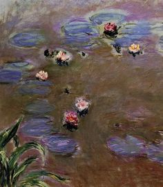 goodreadss:    Water Lilies 1917 Claude Monet  The Olive Trees Artist: Vincent van Gogh Year: 1889  Yes water lilies the work of Claude Monet 1917  Olive Trees Vincent van Gogh 1889  Lovely works thank you