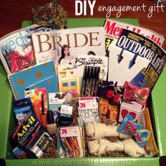 Engagement Gift (the whole set!) #engagementgift #engagement #gifting