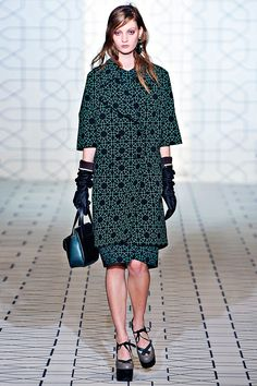 marni fw 2011 green and blue