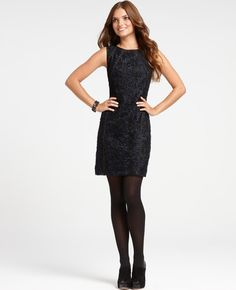 Embroidered Lace Sheath Dress from Ann Taylor....