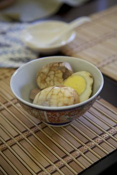 Chinese tea eggs (recipe developed and photo by me)