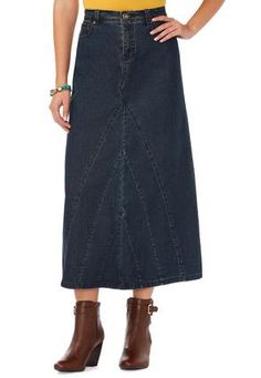 ef3cdce95ef91 Cato Fashions V-Inset Denim Skirt. Have this skirt and it is so comfortable