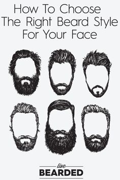 Beard Care Tips: How To Choose The Right Beard Style For Your Face | Beard…
