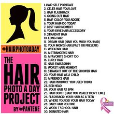 For my hairstylist friends!!! =) Photo a day!