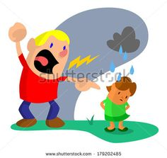 Upset husband angrily yelling at his wife making her feel small and alone by AtomicBHB, via Shutterstock