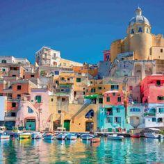 Procida island, Napoli