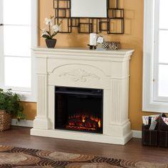 southern enterprises sicilian ivory harvest fireplace