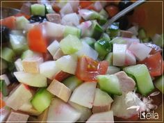 La Nueva Cocina de Leila: Ensalada de rabanos #Ponunaensalada