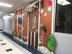 You'll definitely want to steal at least one. Candy Decorations, Light Decorations, Holiday Lights, Holiday Tree, Pto Today, Blue Tablecloth, School Store, Holiday Boutique, Paper Backdrop