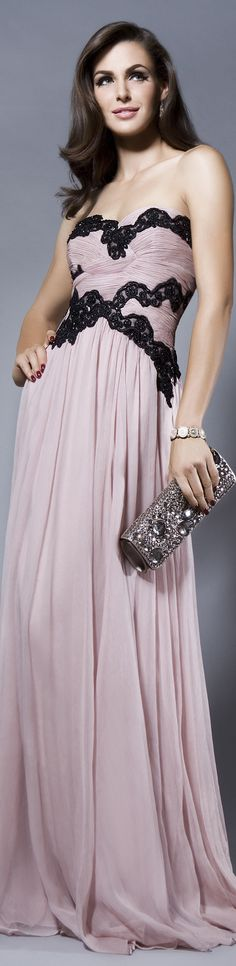 GRACIOUS ME Collection: FALL IN LOVE  Rochie de seara gown #strapless #sexy #tomantic #pink #large #elegant #formal #dress <3