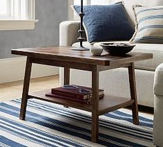 Shop coffee table from Pottery Barn. Our furniture, home decor and accessories collections feature coffee table in quality materials and classic styles. Coffee Table Pottery Barn, Round Wood Coffee Table, Reclaimed Wood Coffee Table, Small Coffee Table, Rustic Coffee Tables, Coffee Table With Storage, Coffee Table Design, Ideas For Coffee Tables, Coffe Table