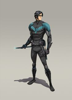 FANDOMSPECTRUM, rockitraccoon: Batman and Nightwing by Dan Mora
