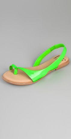 green + tan--Diane von Furstenberg