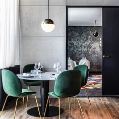 Project Restaurant Lyon Claude Cartier Décoration - La Foret Noire - magic circus editions - thonet vienna - la chance - wall and deco - gubi - beetle chair - gamfratesi - palmadore - pierre frey - dimore studio